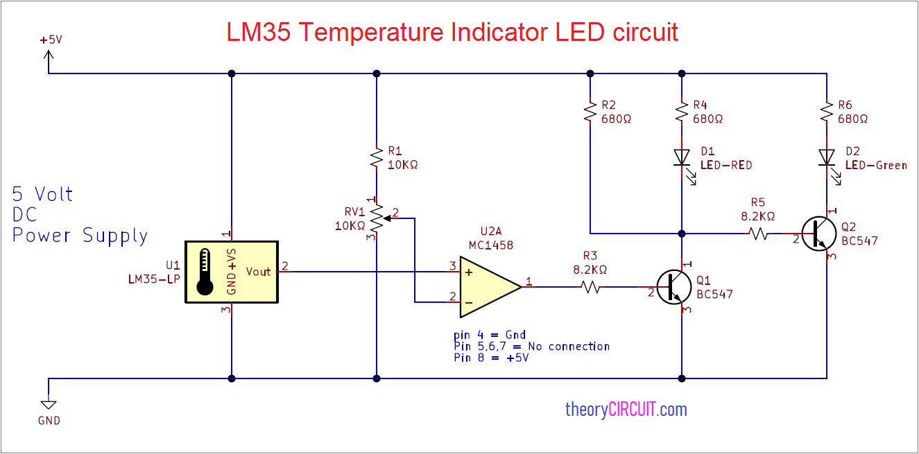 hight resolution of lm35 temperature indicator led circuit digital display circuit leds temperature indicator circuit diagram