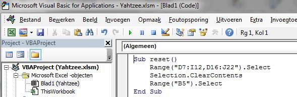 Excel Visual Basic