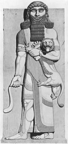 Gilgamesh from Palace of Sargon II, Khorsabad