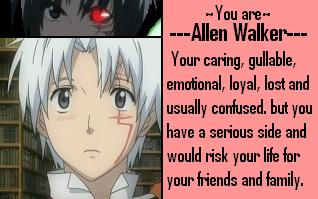What D.Gray-man Character Are You?