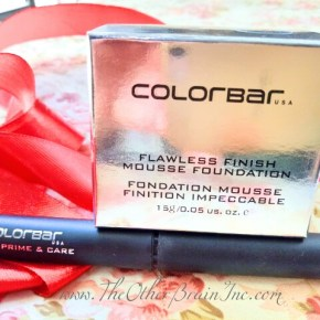ColorBar Flawless Finish Mousse Foundation & Lip Prime & Care Review!