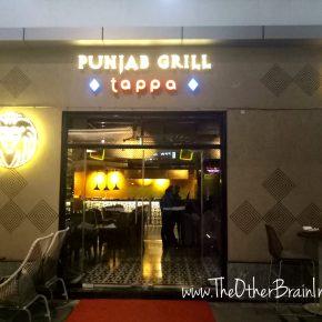 Punjab Grill Tappa, Cyber Hub, Gurgaon Restaurant Review