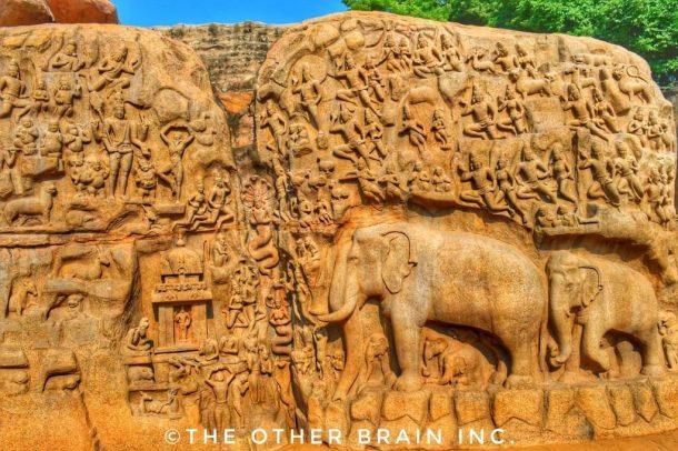 Arjuna's Penance & Ganga's Descend Monument - Interesting facts about Mahabalipuram