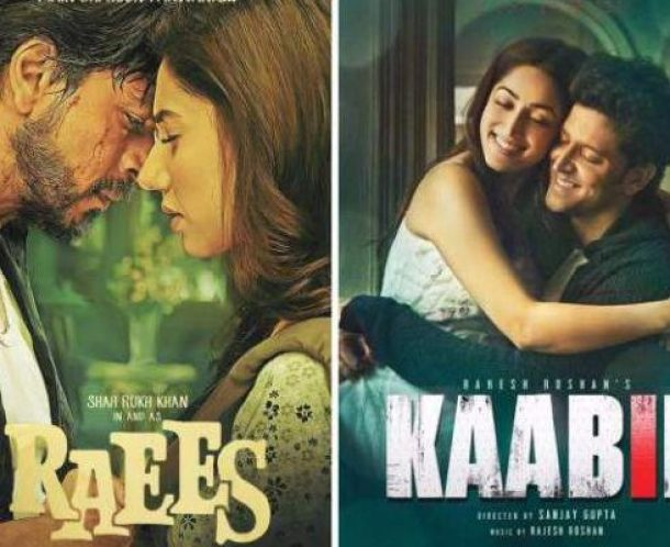 Raees v/s Kaabil - Bollywood's year 2017 - www.TheOtherBraininc.com