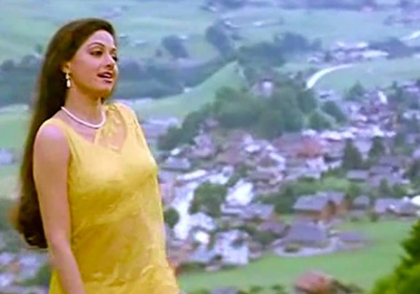 She immortalized the character of Chandni. Sridevi Hindi film career