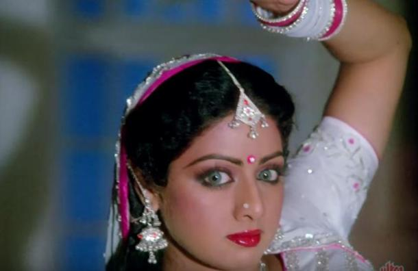 Only if the snakes were such beauty. Sridevi Hindi film career