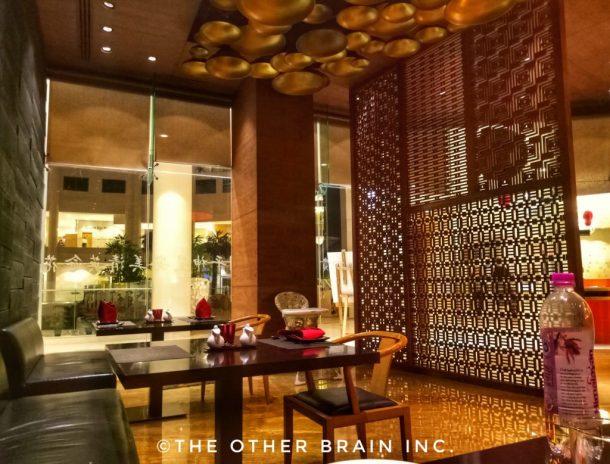 Interiors of Rice Restaurant - Radisson Blu Hotel Dwarka