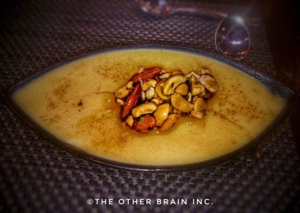 Lemon Grass infused Cream Brulee - Rice Restaurant - Radisson Blu Hotel Dwarka