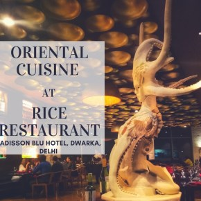 Looking for an Oriental Fine Dine Head to this Restaurant inside a luxurious Five Star Hotel in Delhi!