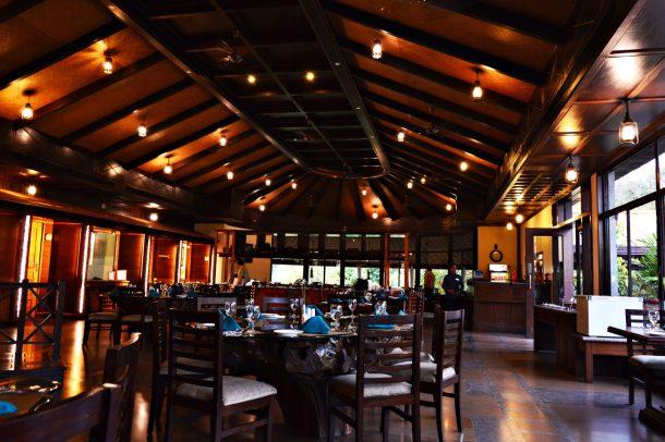 Restaurant Interiors - Aahana Resort in Jim Corbett National Park