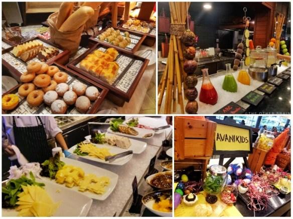 Food at AVANI Pattaya Resort - Destination Wedding in Thailand Photo © The Other Brain Inc.