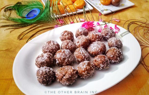Sugar Coated Mathura Peda Recipe