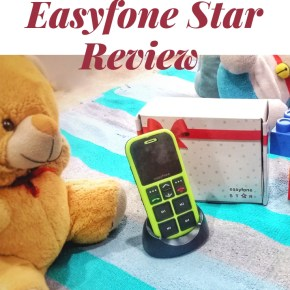 Easyfone Star – Parents, This Phone, We Bet You Would Want Your Children to Carry Along Everywhere!