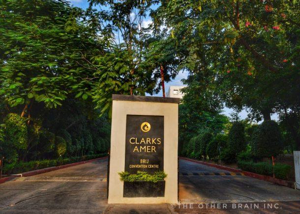 Clarks Amer Jaipur hotel Entrance