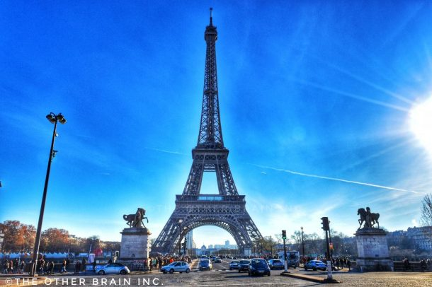 Eiffel Tower - A monument that's worth to see time & again when visiting Paris