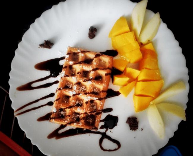 My best waffle recipe.. Do try!