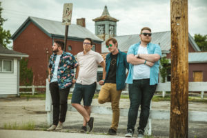 Press image of Friday Giants band