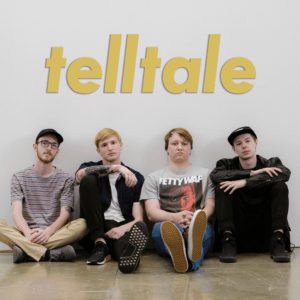 Image of Telltale band sitting down