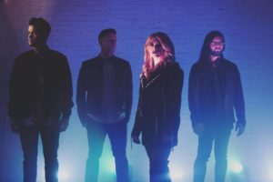 Press image of the band June Divided