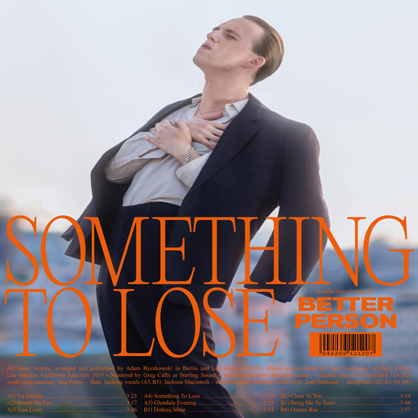 Better Person Something to Lose cover