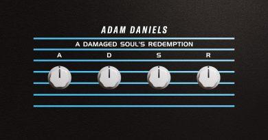 Adam Daniels A Damaged Soul's Redemption album cover
