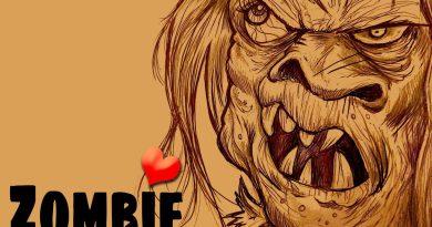 BlackSheepLad Zombie Romance single cover