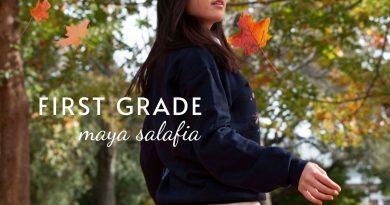 Maya Salafia First Grade Single cover