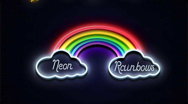 Johnathan Whitehorn Neon Rainbows single cover