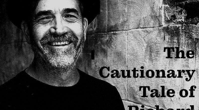 Marc Delgado The Cautionary Tale of Richard Manuel single cover