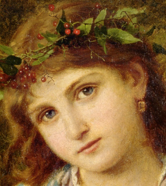 An Autumn Princess Sophie Gengembre Anderson-detail