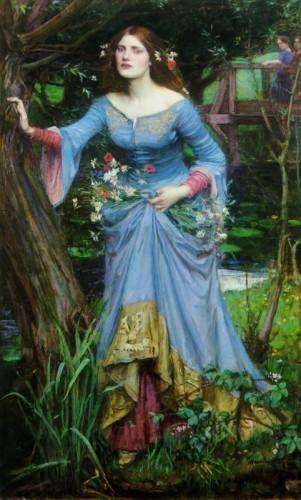 Ophelia - John William Waterhouse 1894 - possible Myrredith