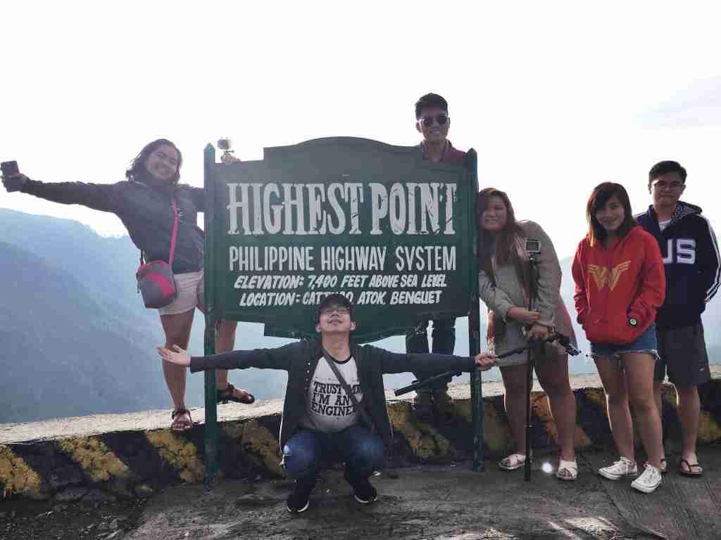 highest point signage sagada
