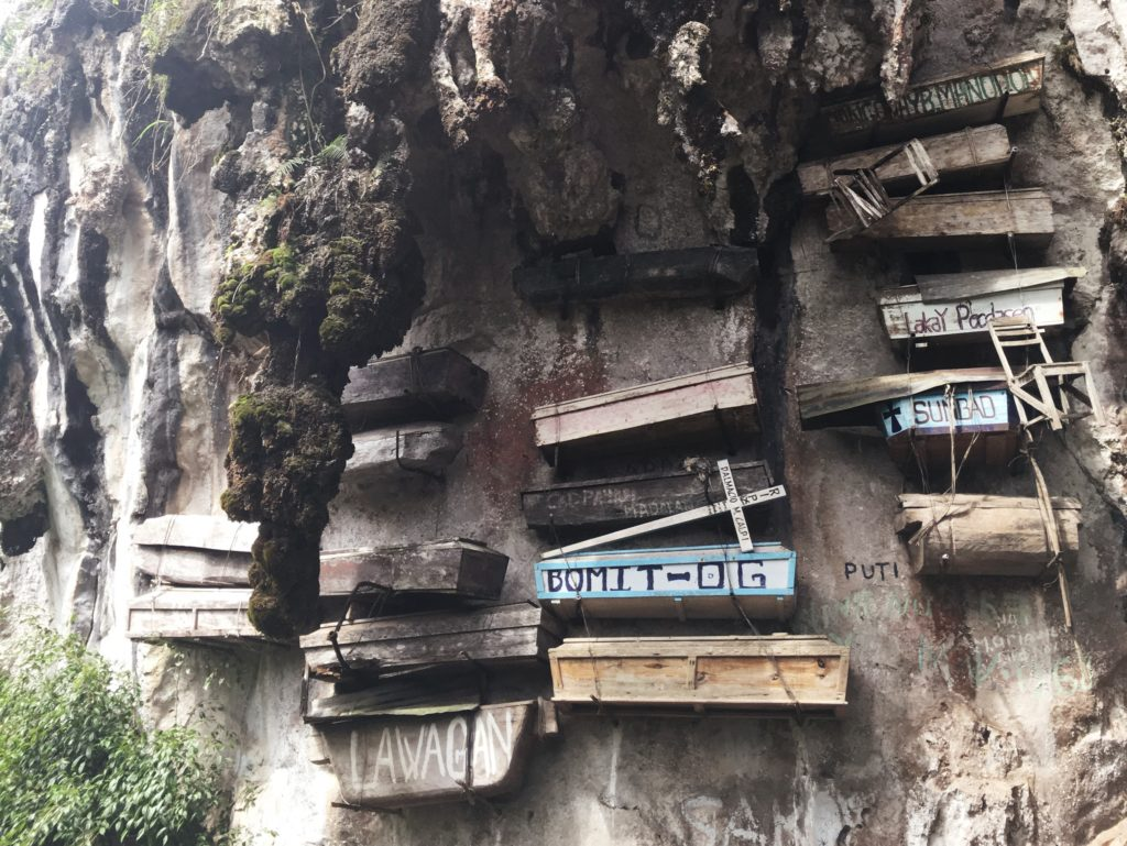 dead people buried in hanging coffins sagada