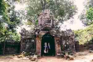 Ta Som temple siem reap cambodia