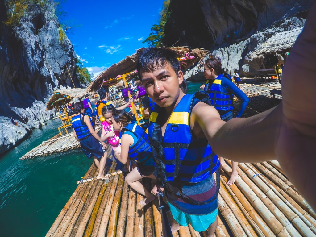 selfie in the minalungao national park