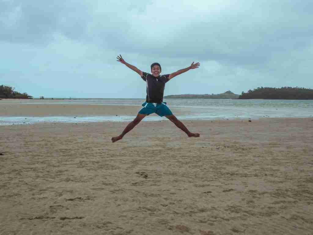 jump shot in manlawi sandbar
