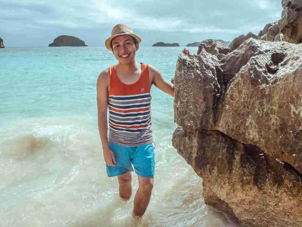 matukad island beach in caramoan