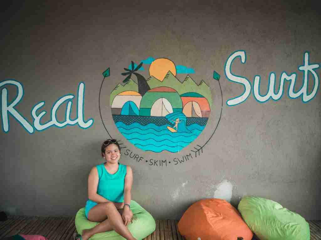 real coast and surf artwall