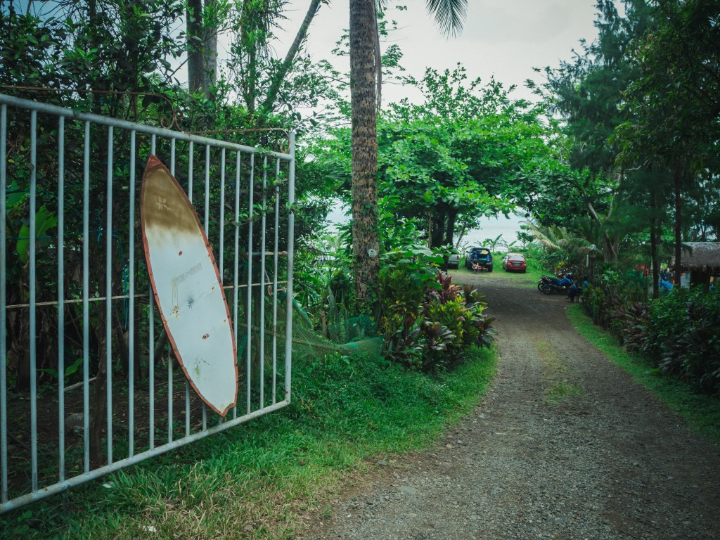 entrance to pacific recreational camp or the Park in real quezon