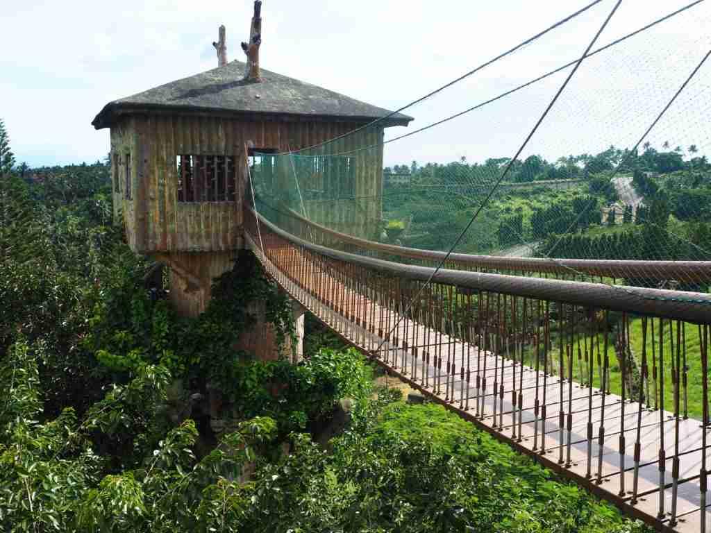 tree house and hanging bridge fantasy world in lemery batangas