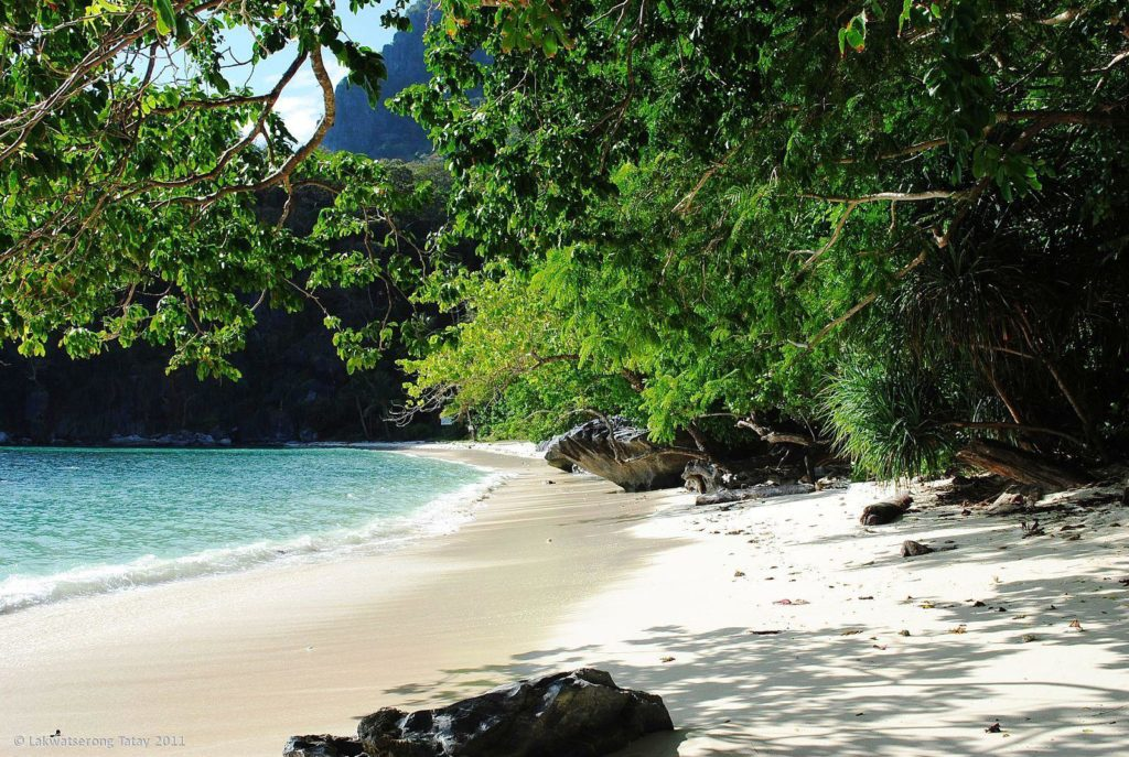 natnat beach el nido palawan
