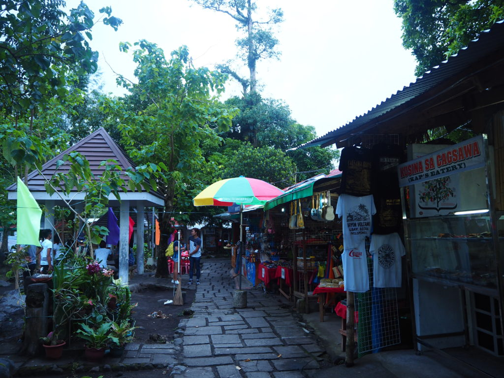 Local stores inside Cagsawa Ruins