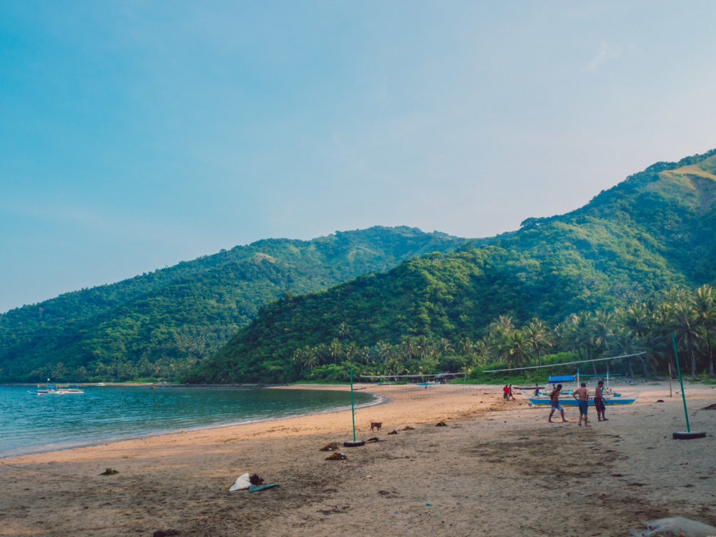 white beach resort in dingalan aurora