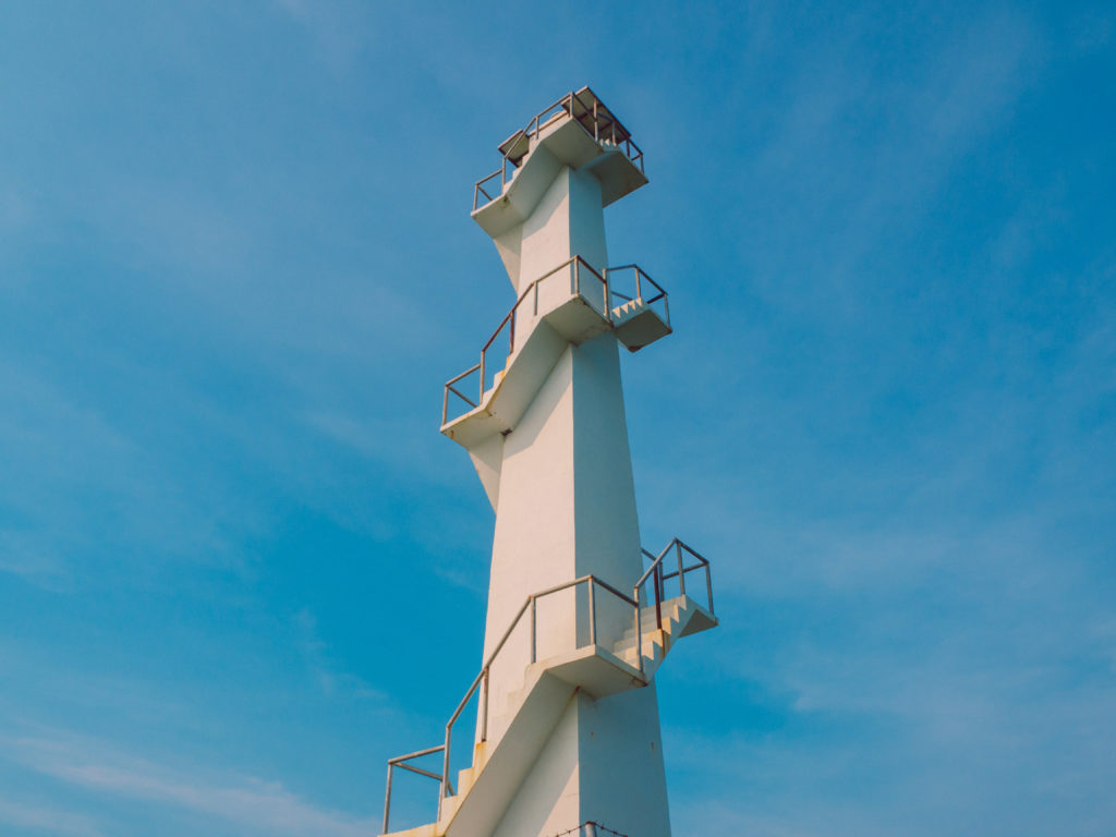 Lighthouse in Dingalan, Aurora