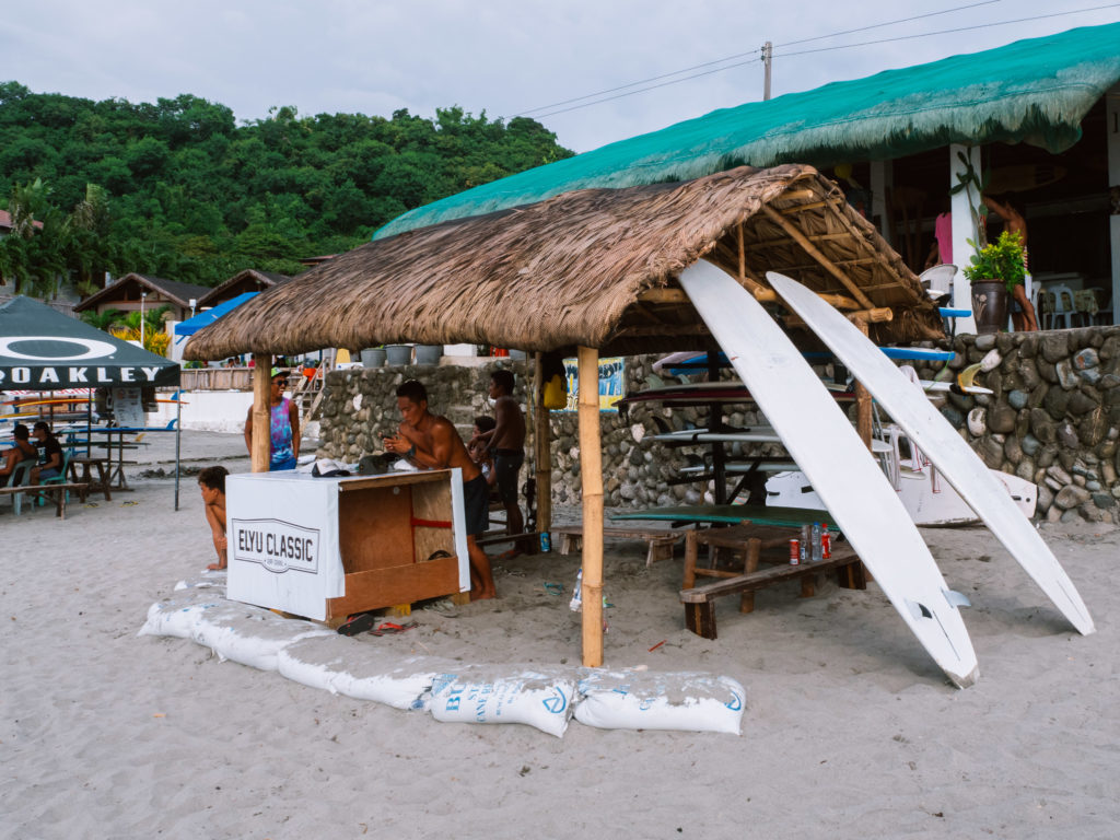 elyu classic surfboards rental in la union