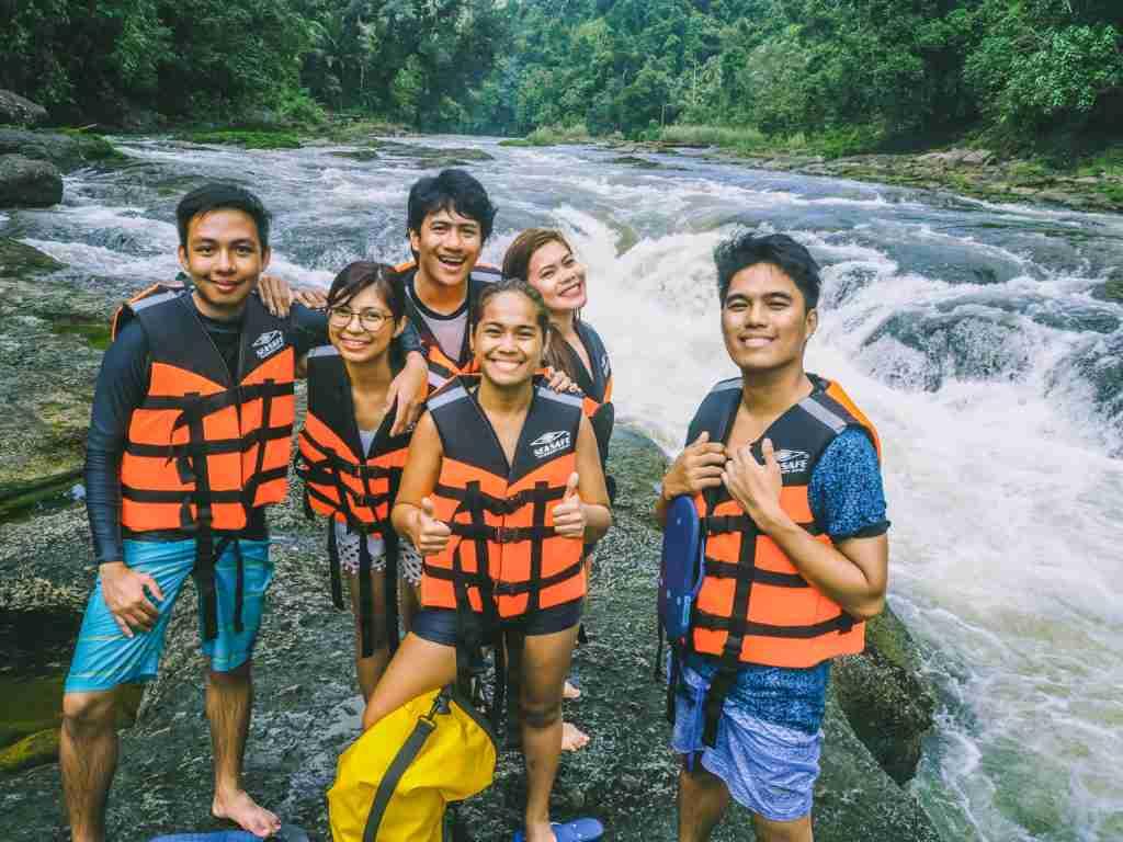 Deni's point in Ulot River in Paranas Samar