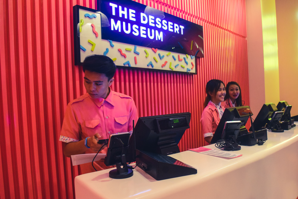 dessert museum manila reception
