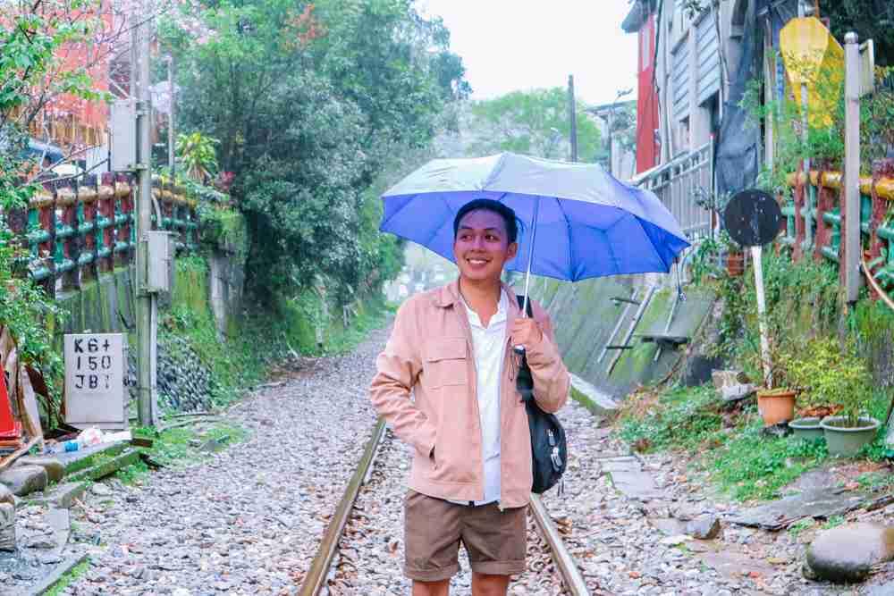 railways in Shifen old street