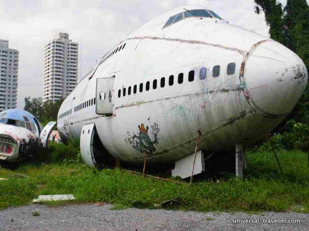 Things Not To Miss In Thailand: Airplane Graveyard Bangkok