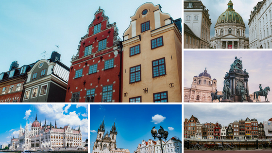 1 month europe trip